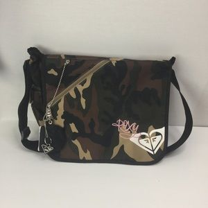 Roxy tote school bag Never Used camouflage